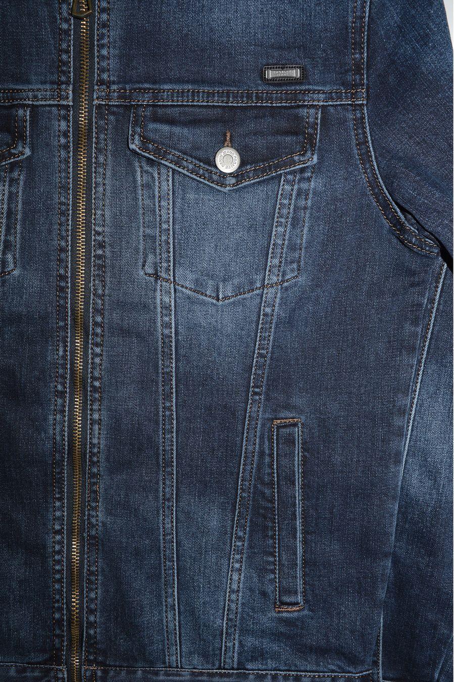 Пиджак мужской (джинсовка) Pagalee P8031 - фото 3