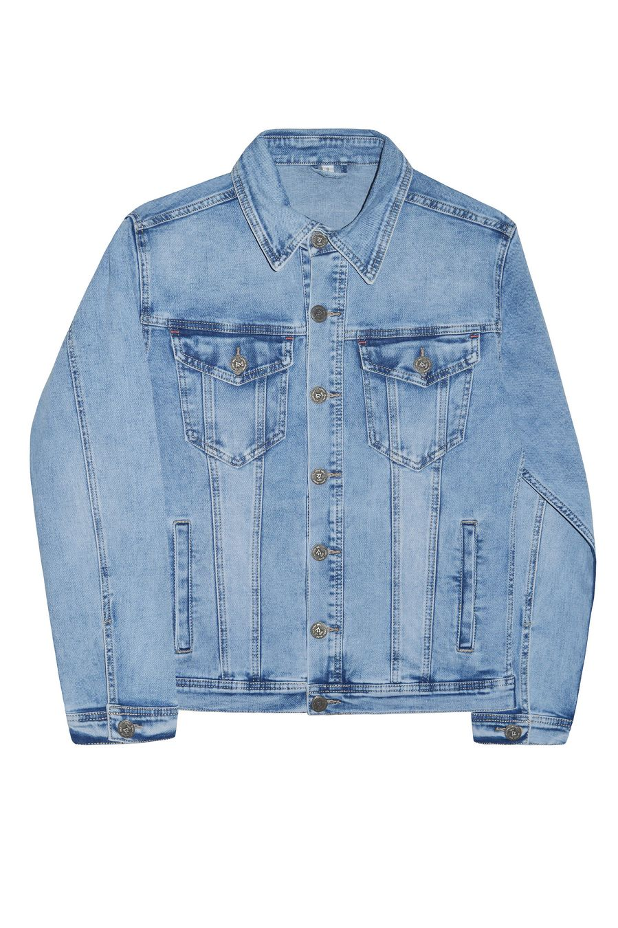 Пиджак мужской (джинсовка) Longli C021 - фото 1