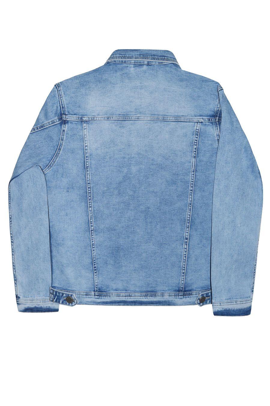 Пиджак мужской (джинсовка) Longli C021 - фото 2