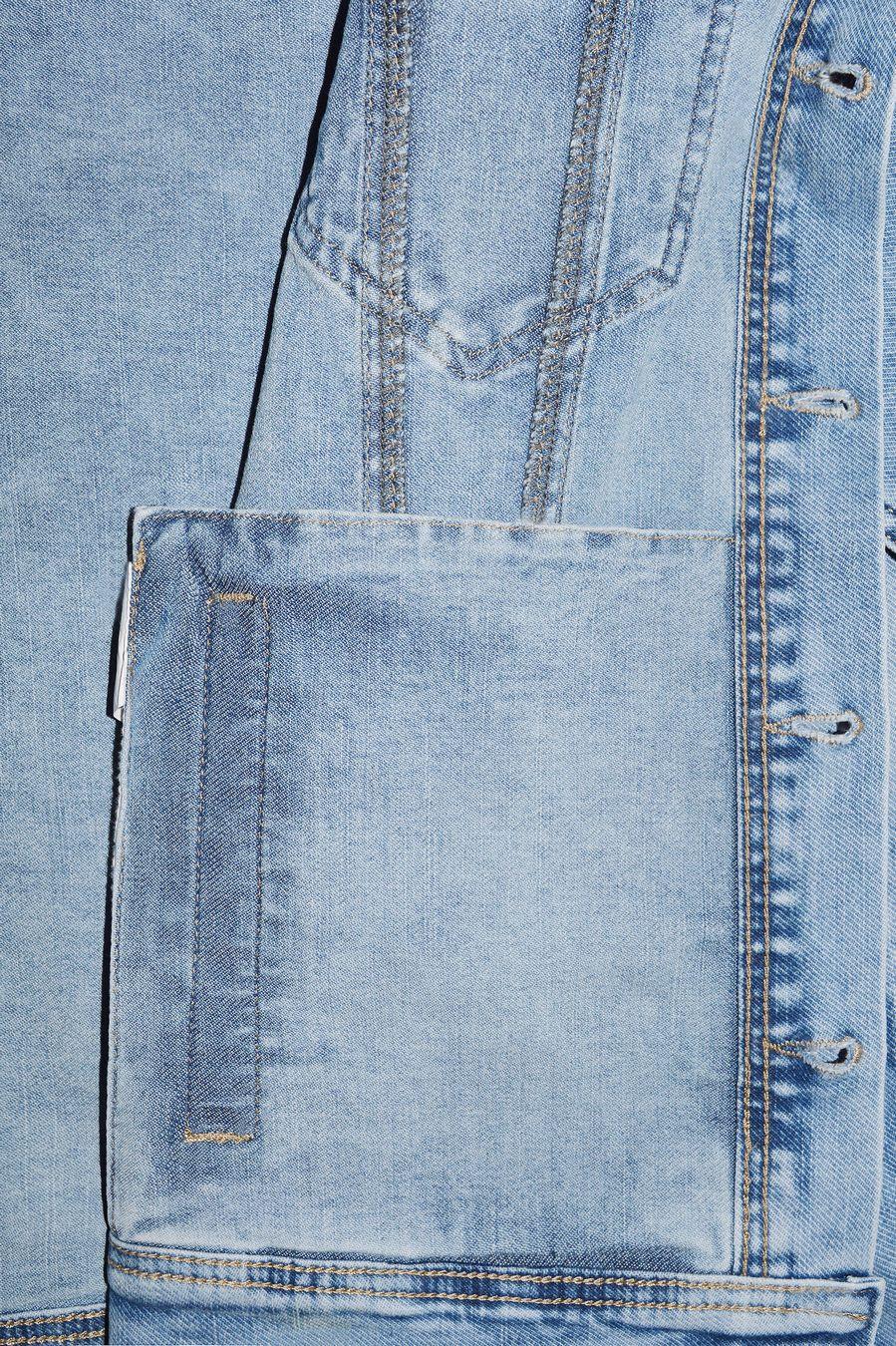 Пиджак мужской (джинсовка) Longli C021 - фото 4