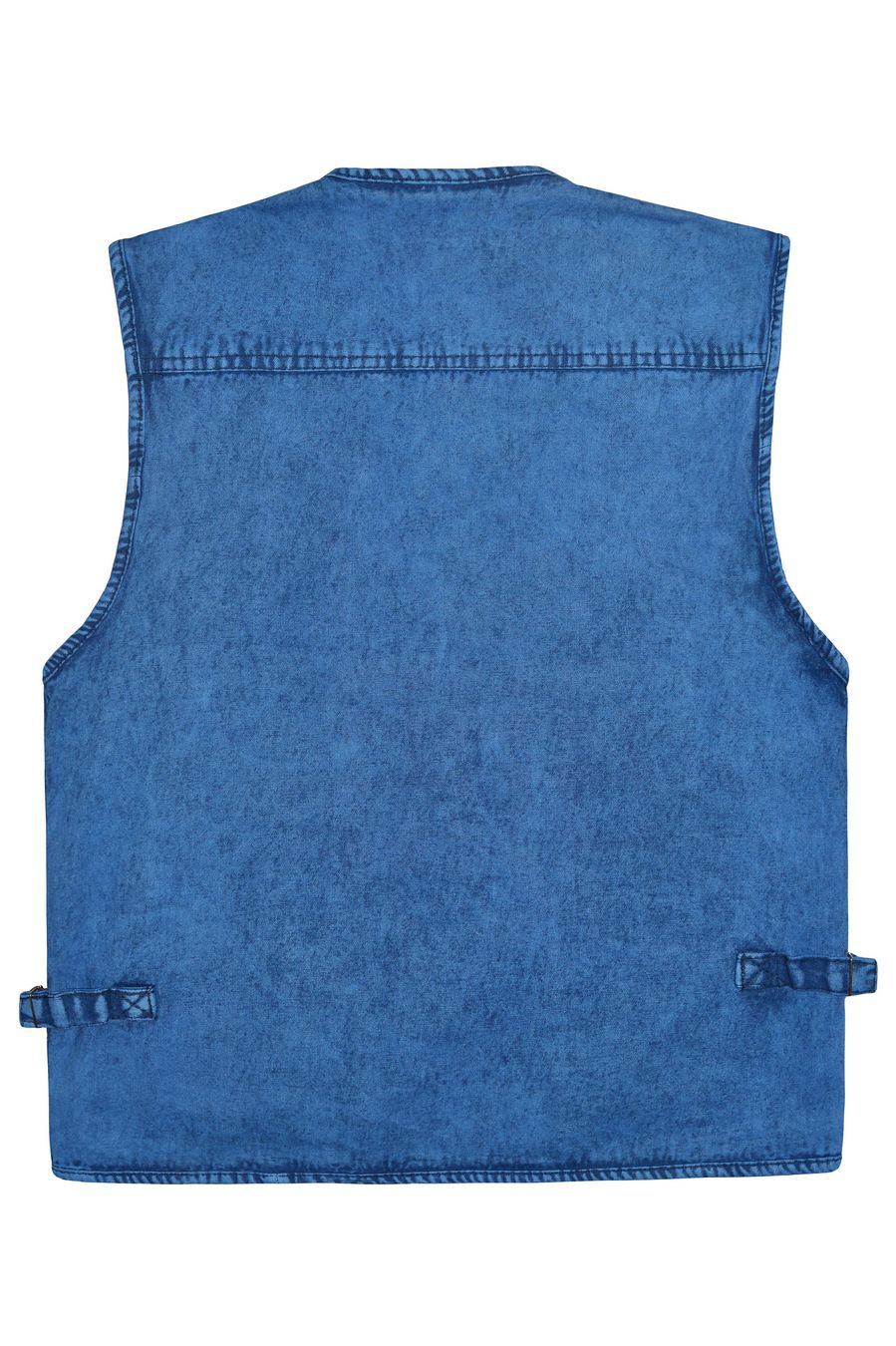 Жилет мужской Sport #10 джинсовый синий - фото 2