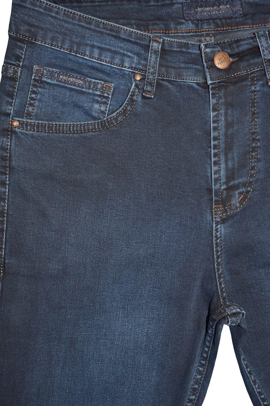 Джинсы мужские MAC Person 2898-12378 Blue Black L34 - фото 3