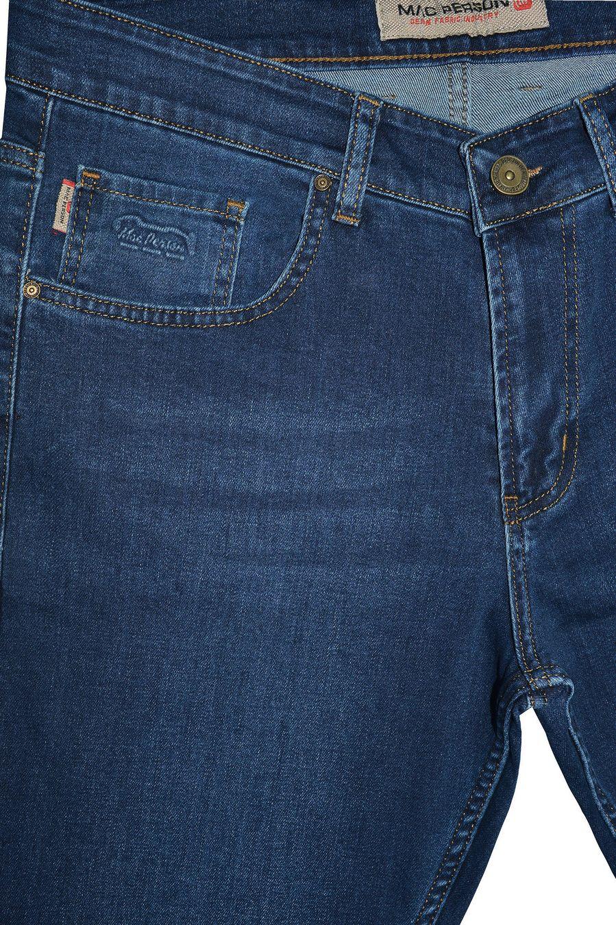Джинсы мужские MAC Person 2939-12373 Blue Blue L32 - фото 3