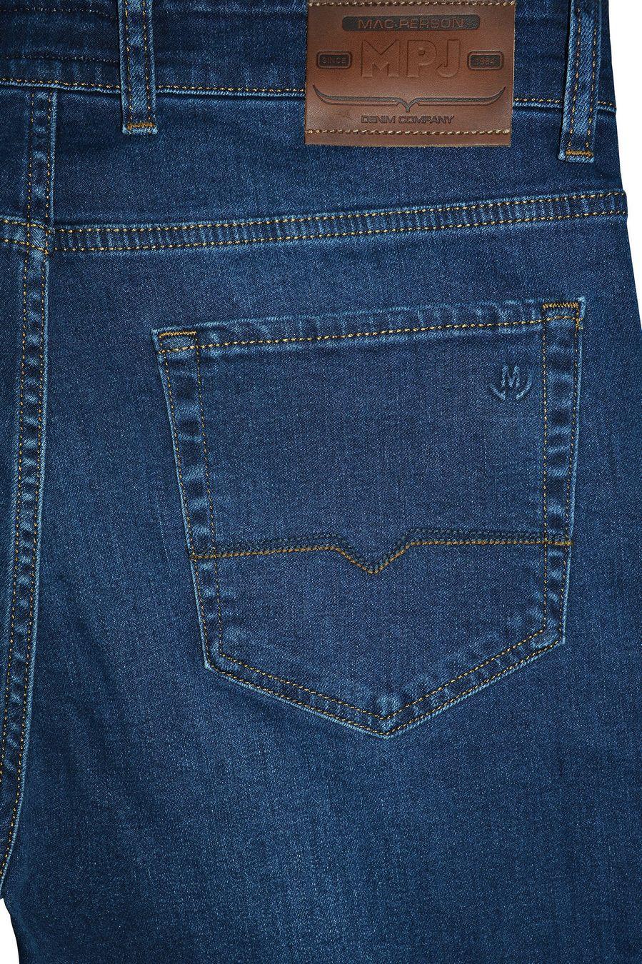 Джинсы мужские MAC Person 2939-12373 Blue Blue L32 - фото 4