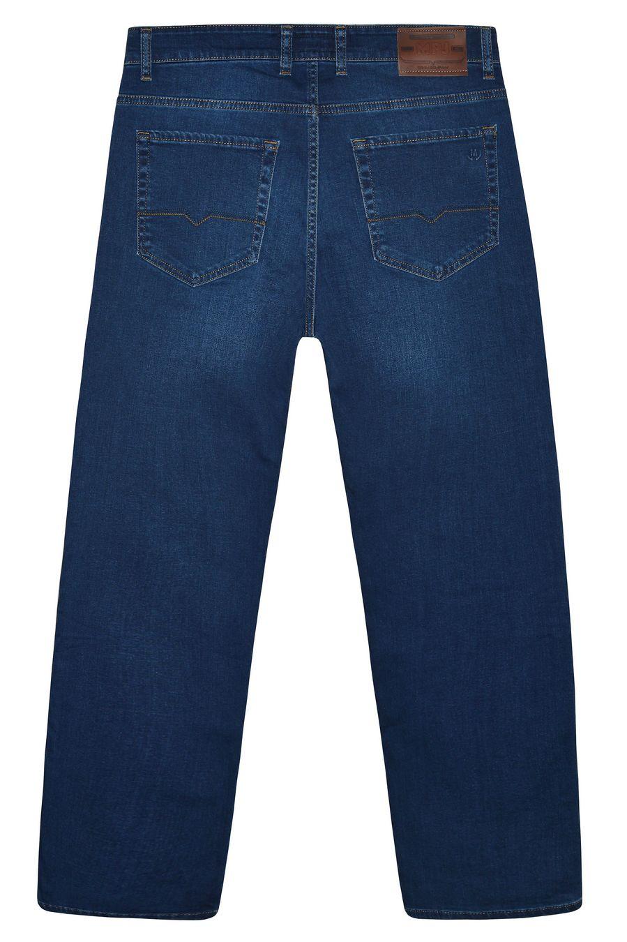 Джинсы мужские MAC Person 2939-12373 Blue Blue L32 - фото 2