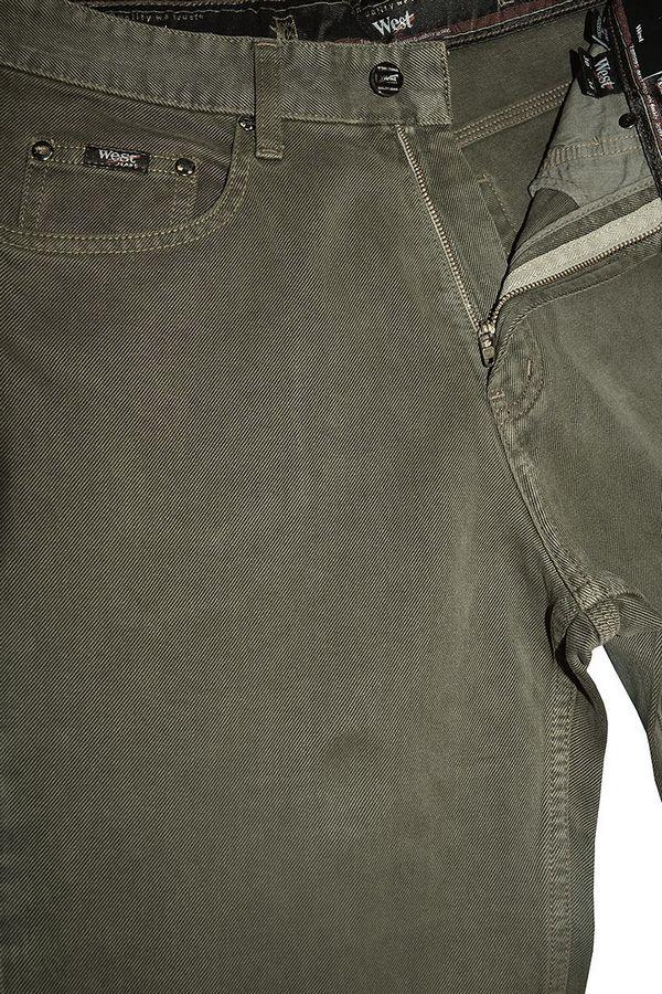 Джинсы мужские West WS08-M1.1-81 Army Green - фото 4