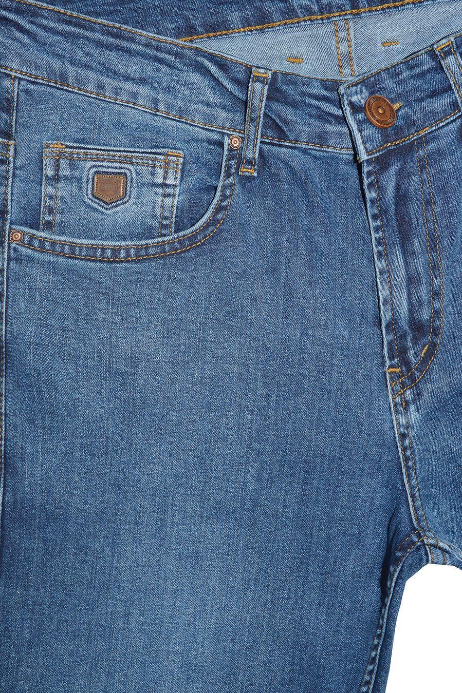 Джинсы мужские MAC Person 2966-12438 Blue Blue L32 - фото 3