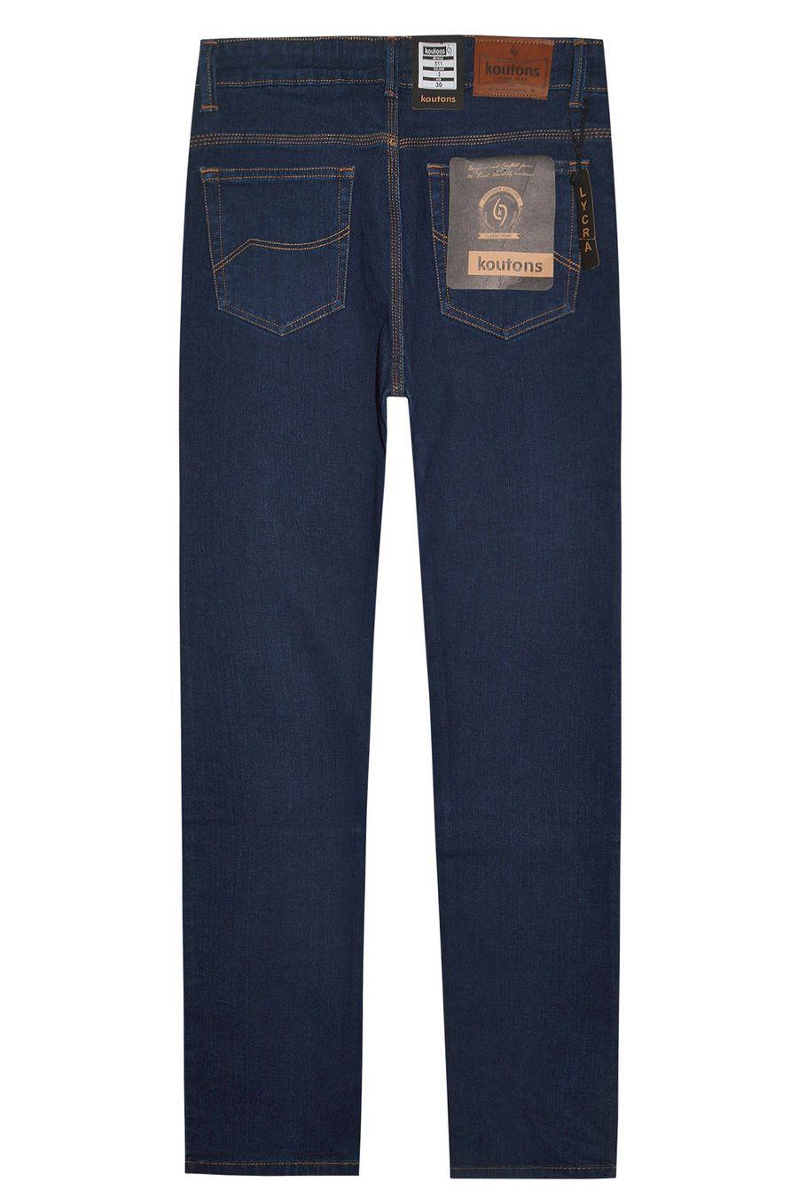 Джинсы мужские Koutons 511-3 Stretch Light Blue (30-34) - фото 2