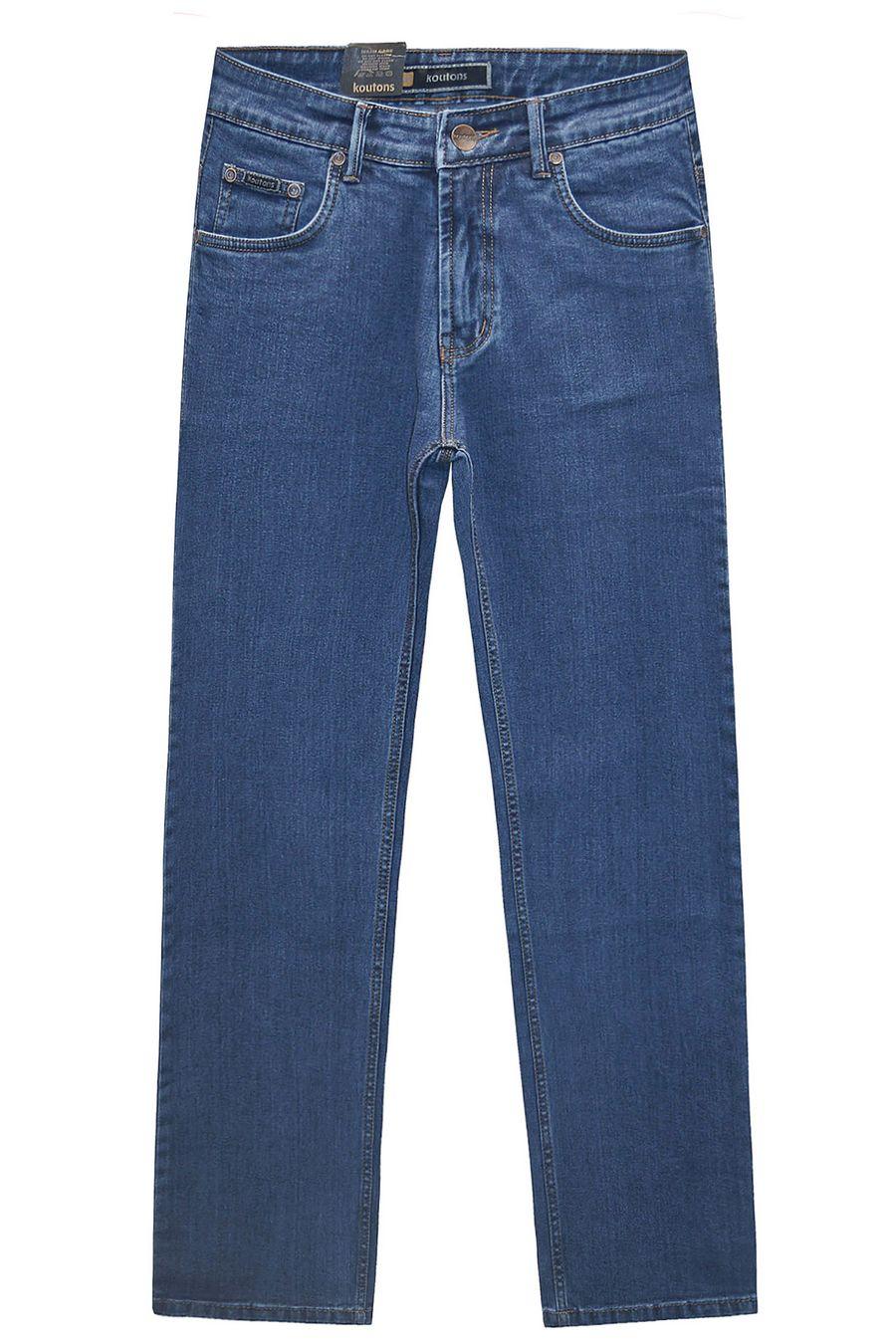 Джинсы мужские Koutons 511-4 Stretch Blue - фото 1