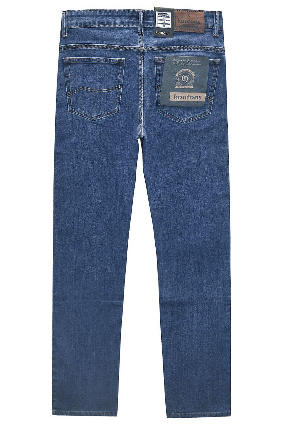 Джинсы мужские Koutons 511-4 Stretch Blue - фото 2