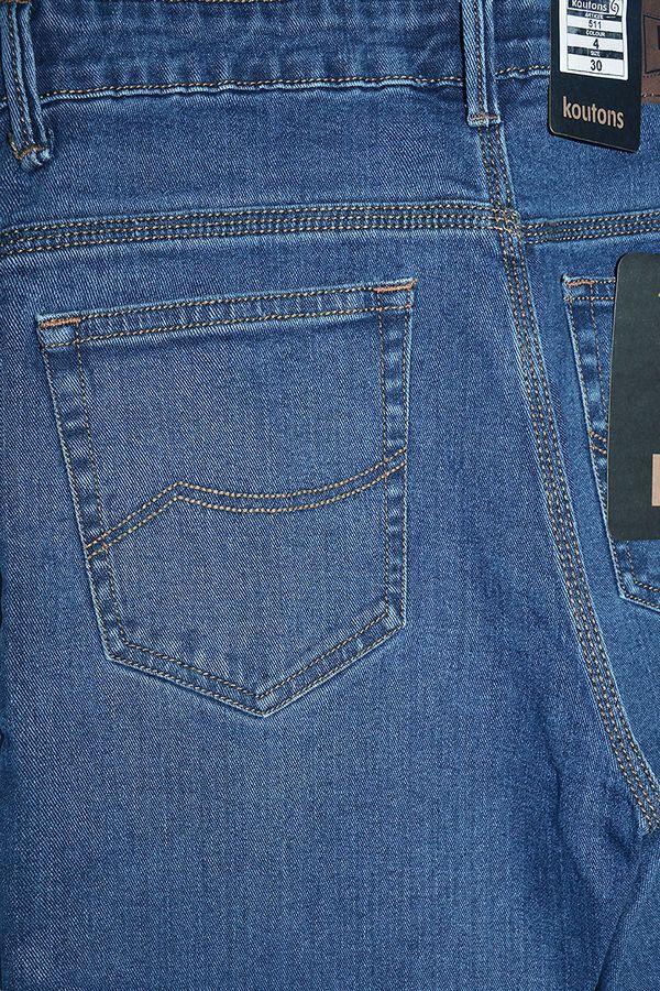 Джинсы мужские Koutons 511-4 Stretch Blue - фото 4
