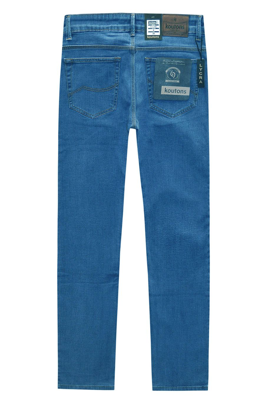 Джинсы мужские Koutons ST-0-590-4 Stretch Blue - фото 2