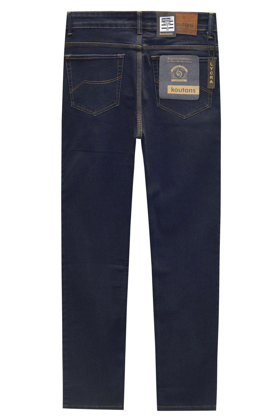 Джинсы мужские Koutons ST-0-590-7 Stretch Black-Blue (30-38) - фото 2