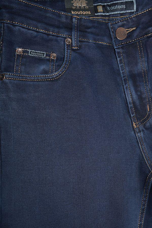 Джинсы мужские Koutons ST-0-590-7 Stretch Black-Blue (30-38) - фото 3