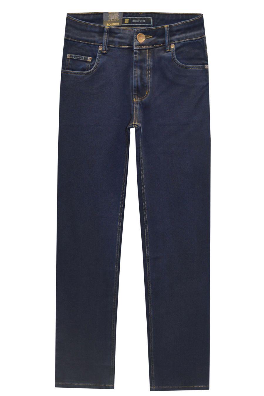 Джинсы мужские Koutons ST-0-590-7 Stretch Black-Blue (31-38) - фото 1