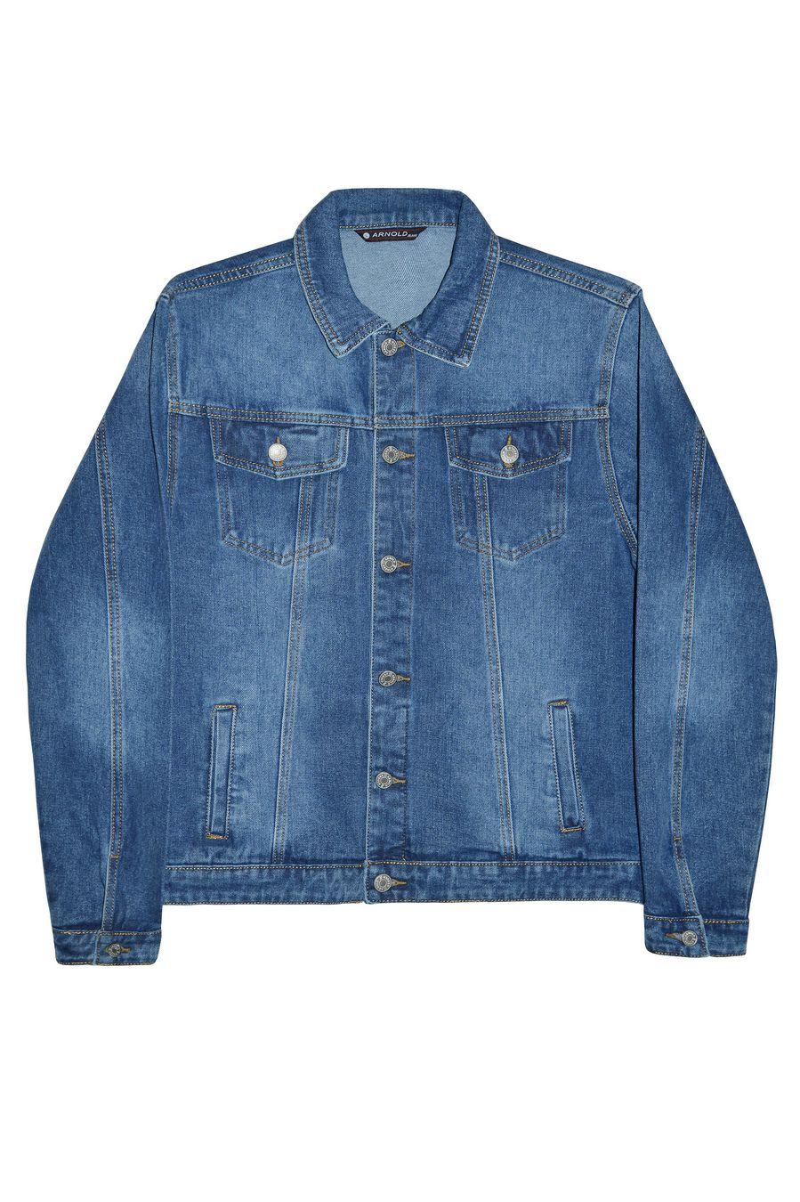 Пиджак мужской (джинсовка) Arnold 3032 - фото 1