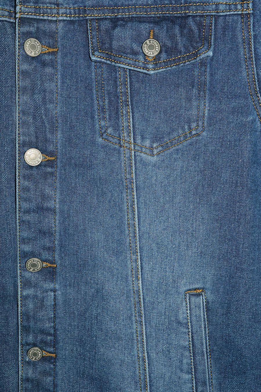 Пиджак мужской (джинсовка) Arnold 3032 - фото 3