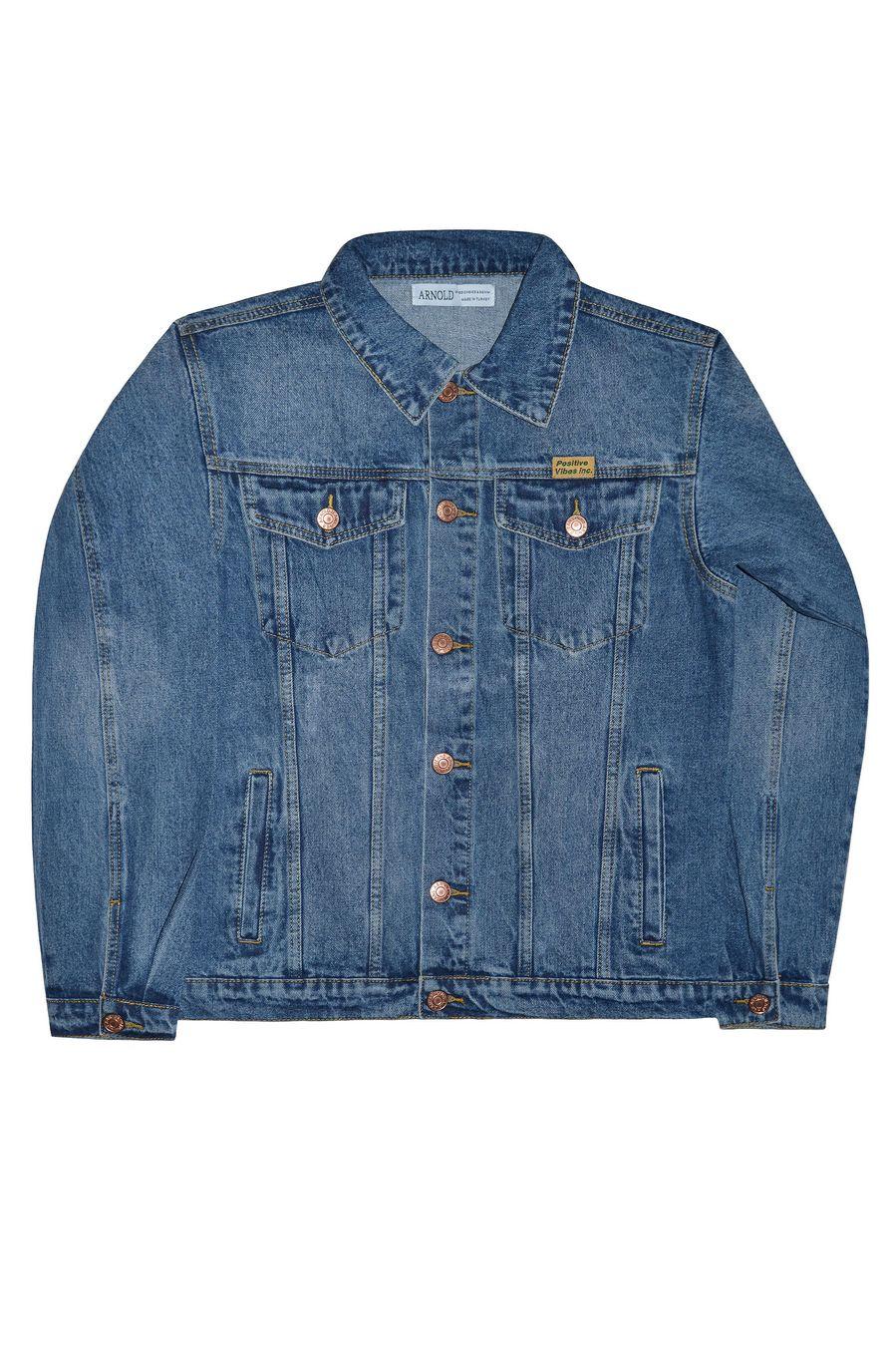 Пиджак мужской (джинсовка) Arnold 5702A - фото 4