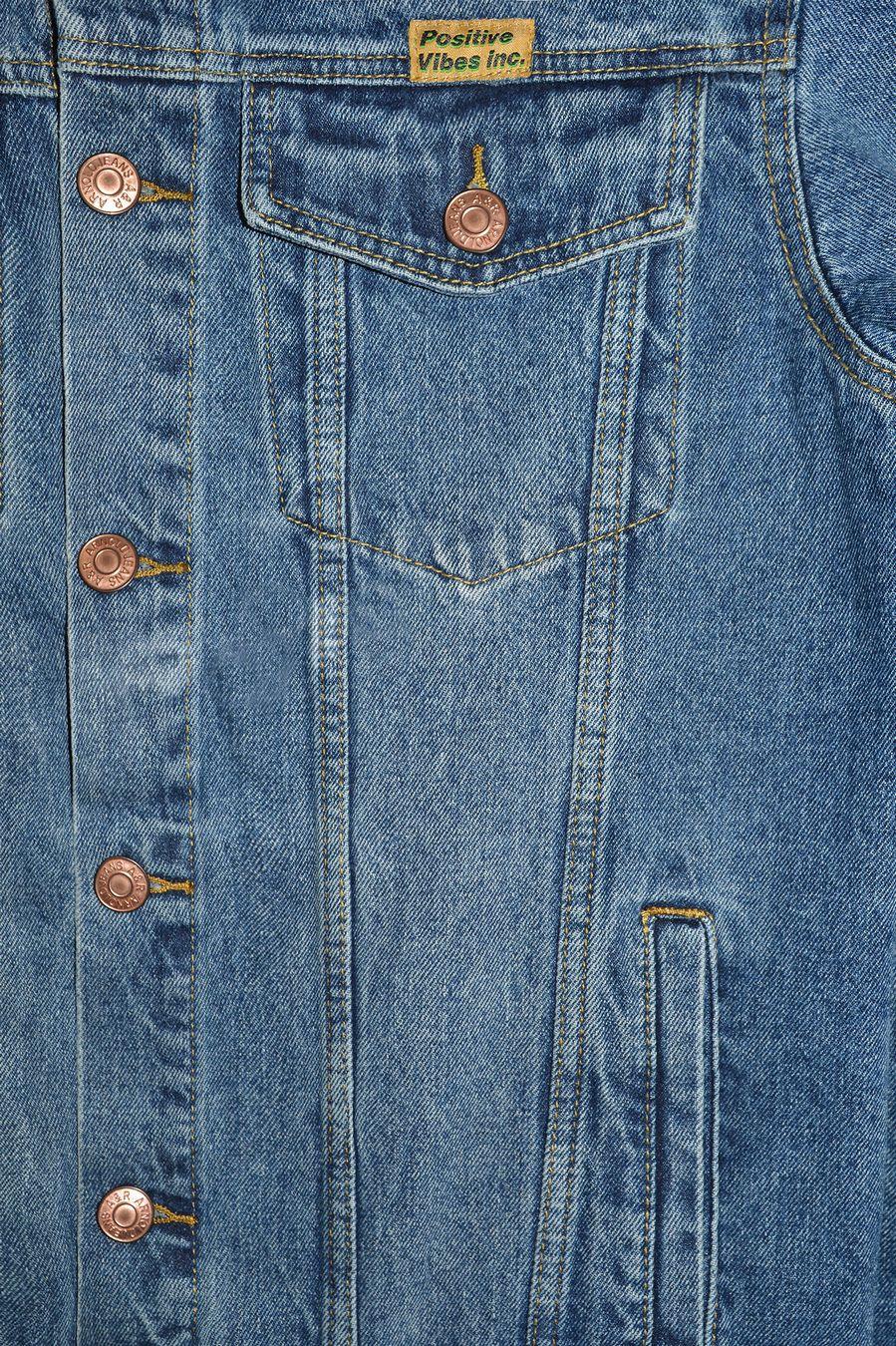 Пиджак мужской (джинсовка) Arnold 5702A - фото 6