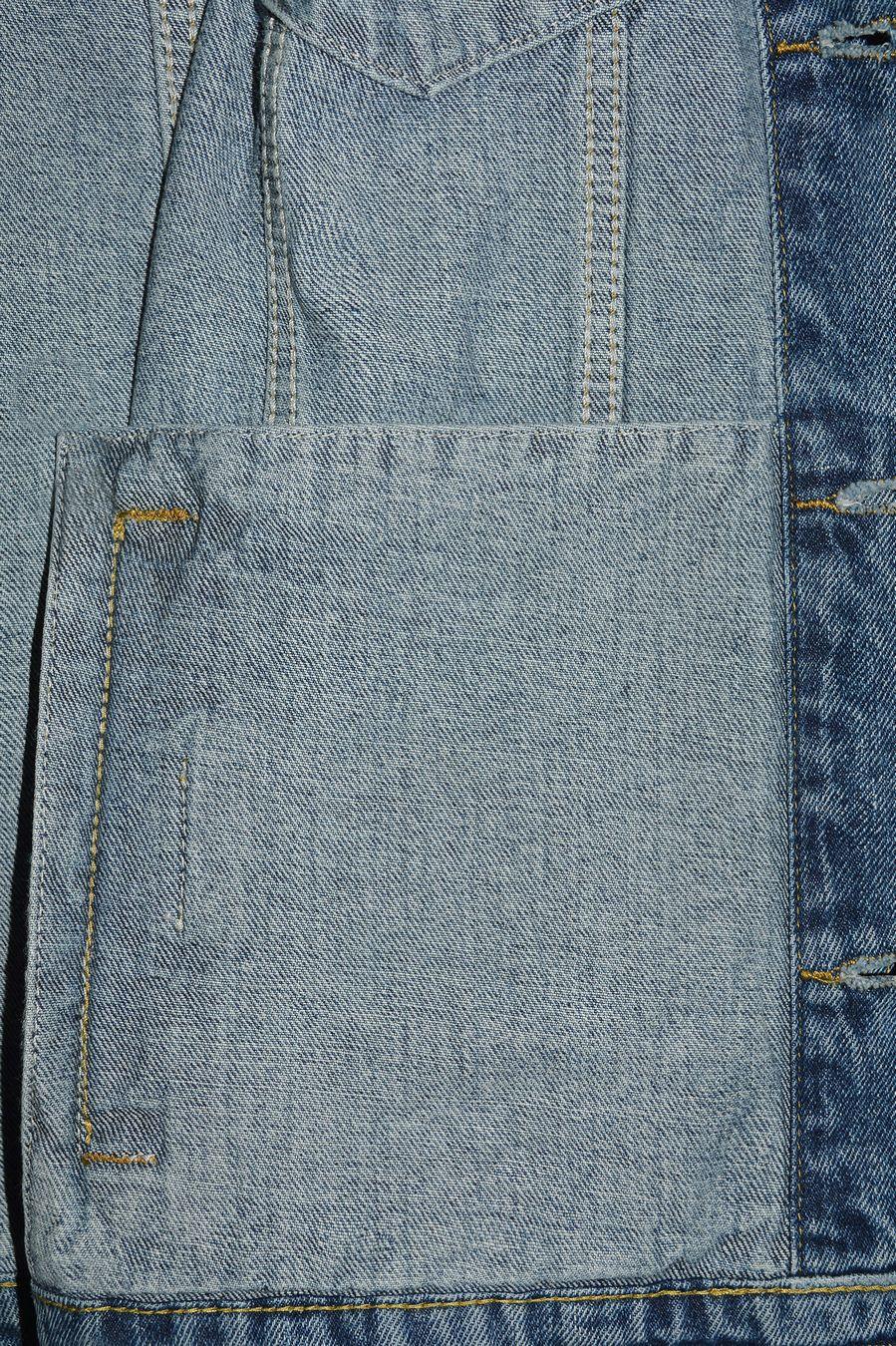 Пиджак мужской (джинсовка) Arnold 5702A - фото 7