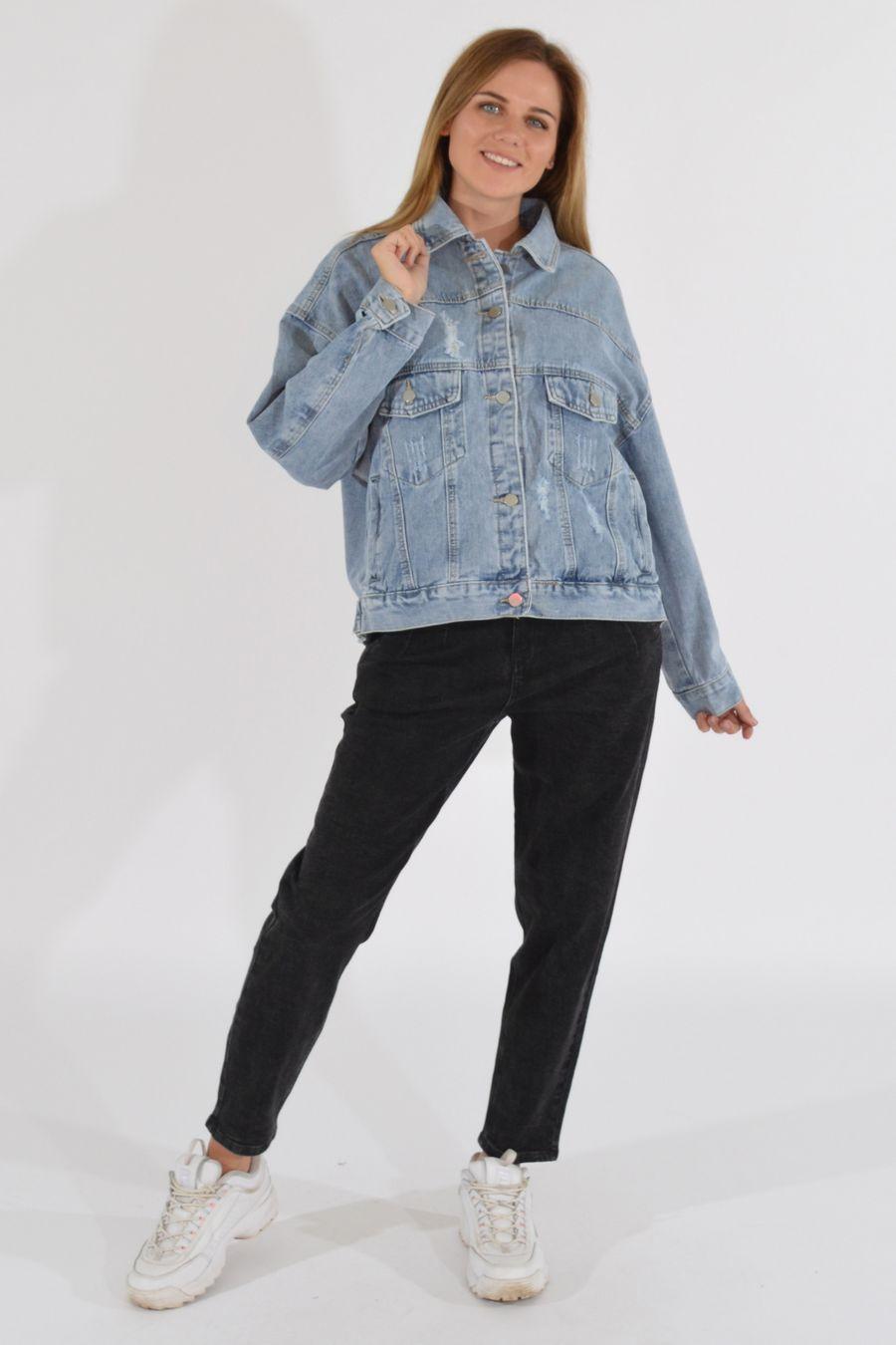 Жакет женский (джинсовка) LRZBS 2189 - фото 1