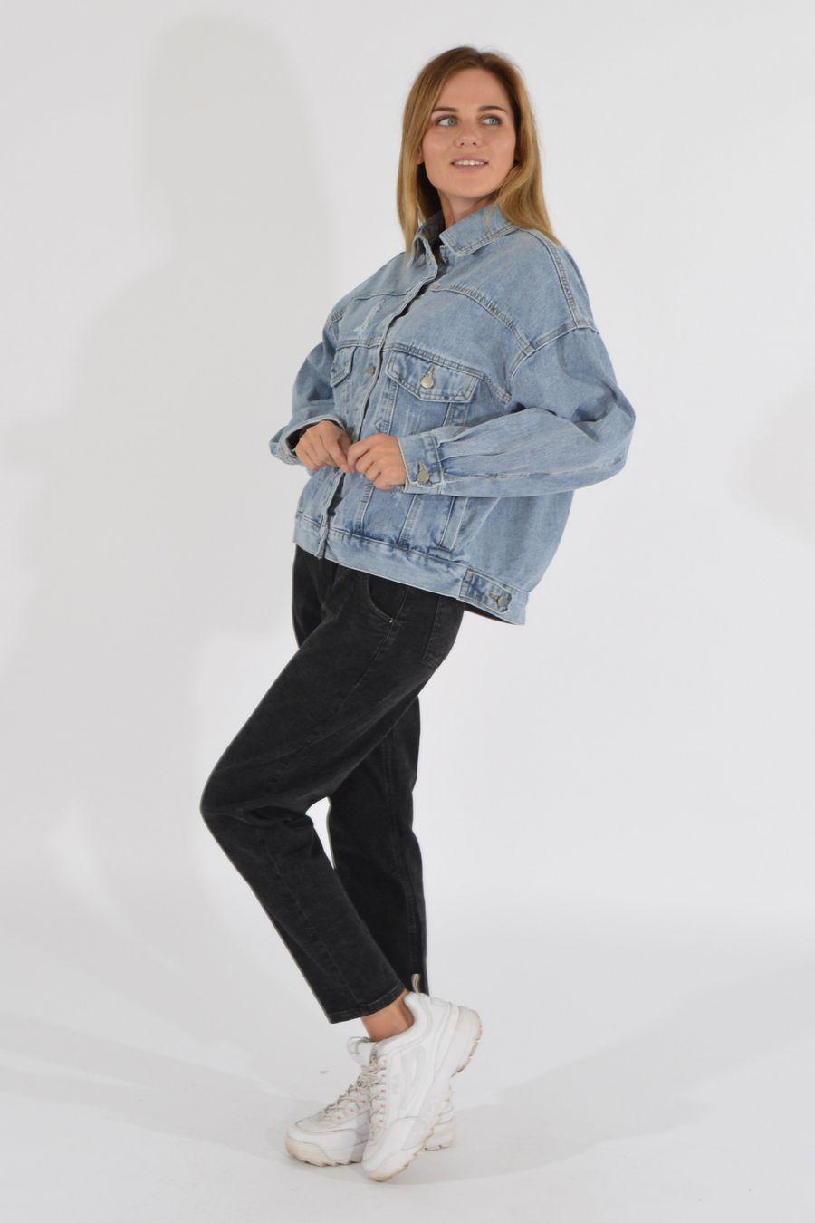Жакет женский (джинсовка) LRZBS 2189 - фото 3