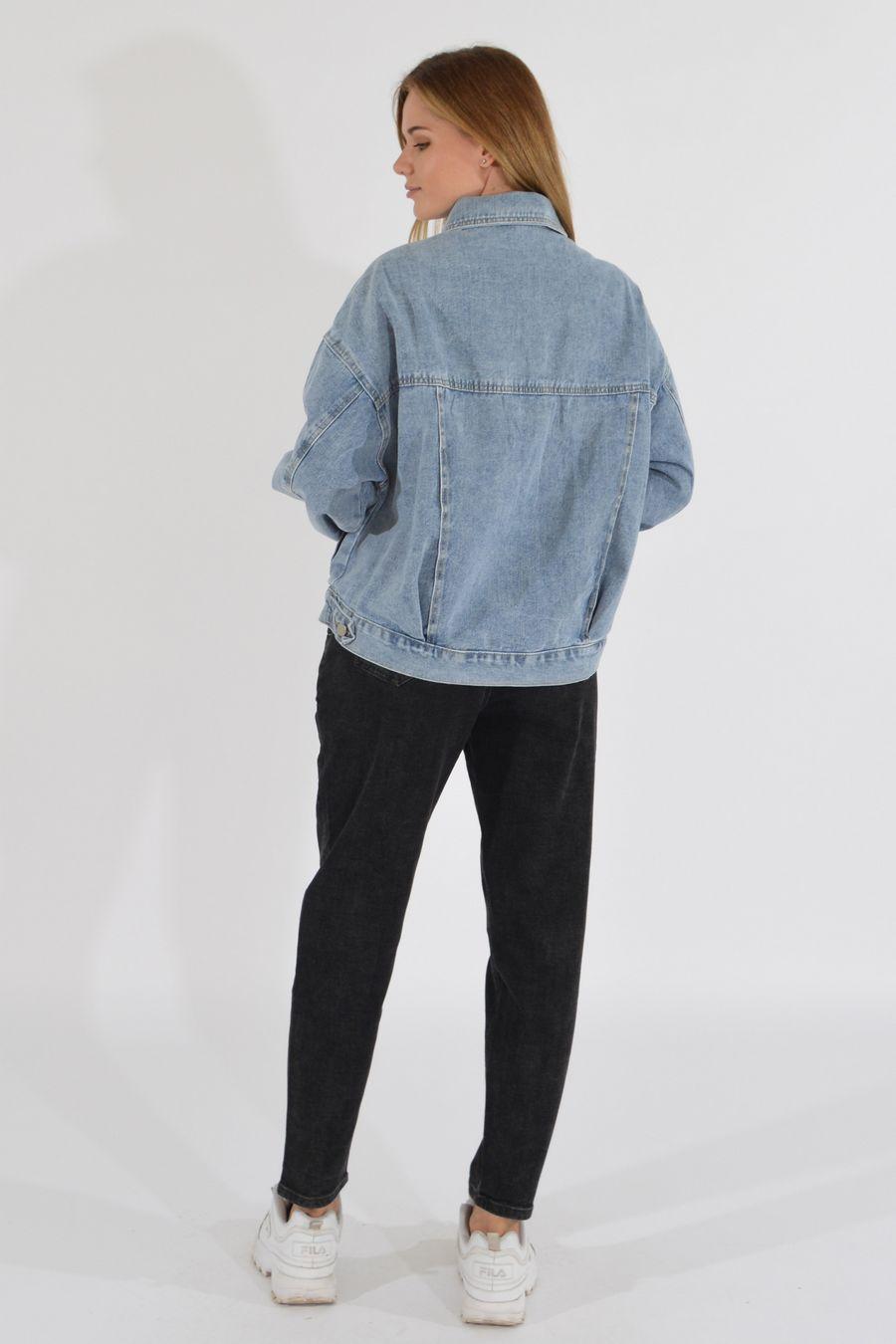 Жакет женский (джинсовка) LRZBS 2189 - фото 4