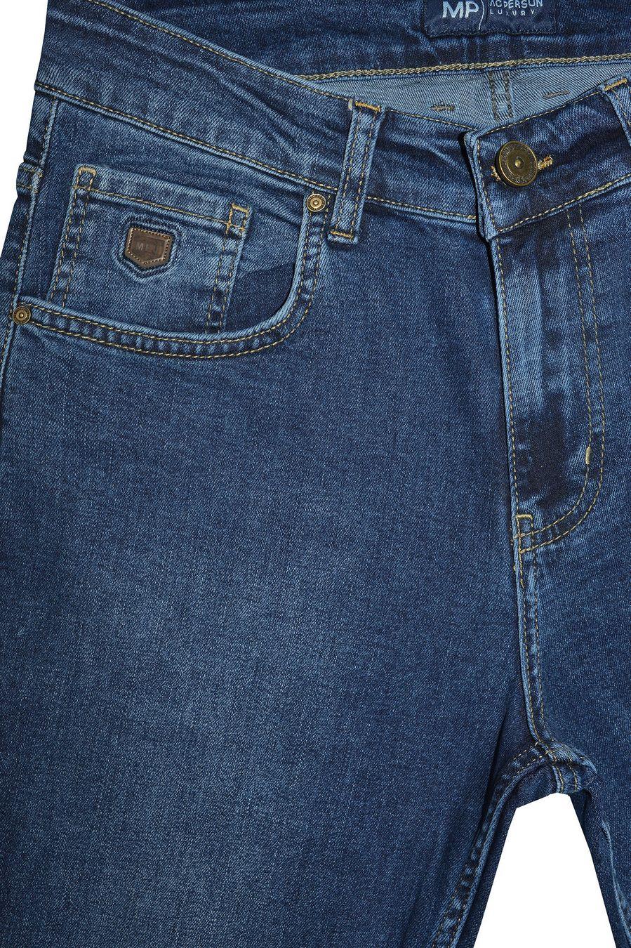 Джинсы мужские MAC Person 2956-12440 Blue Blue L32 - фото 3