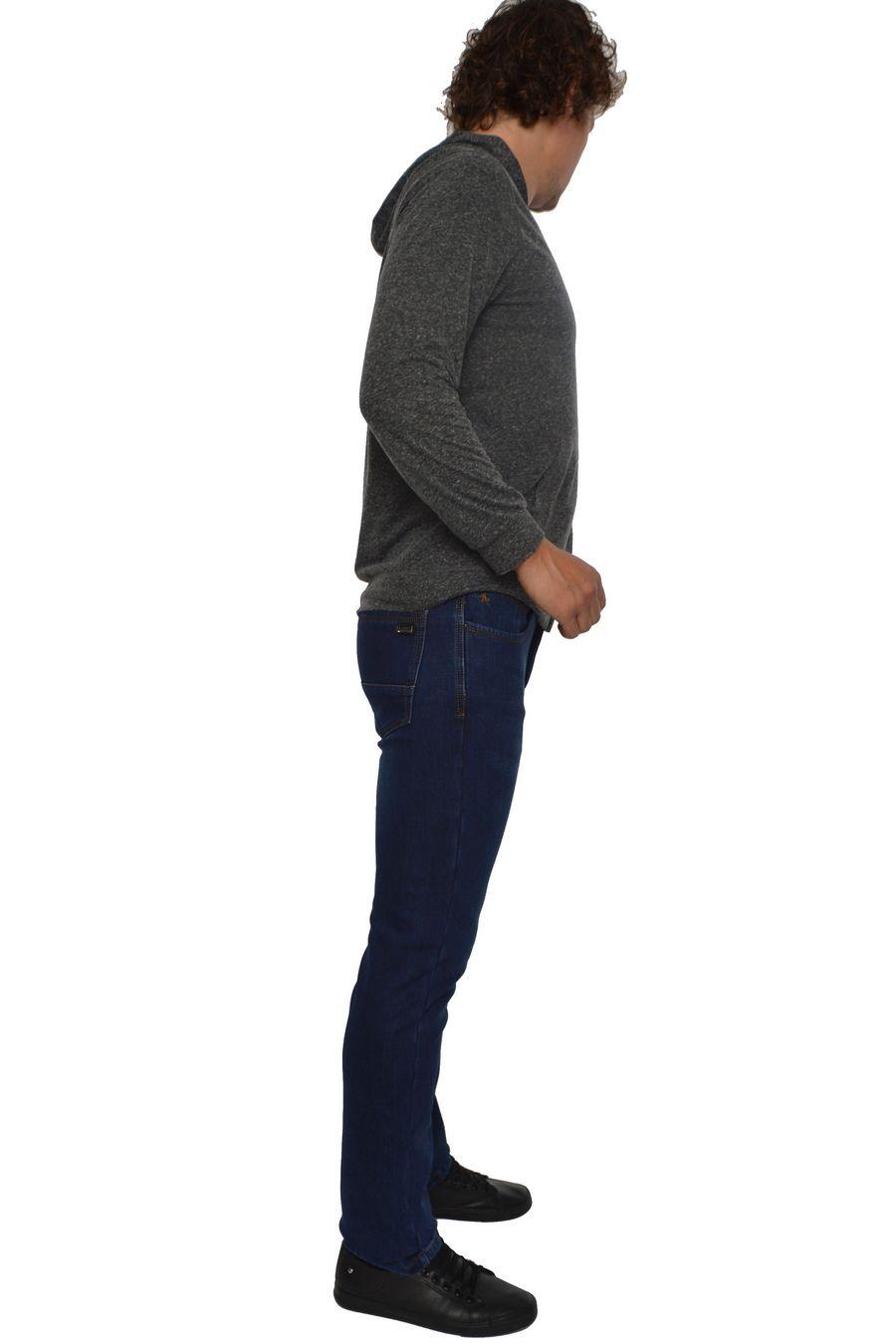 Джинсы мужские Arnold 3527 утепленные - фото 2