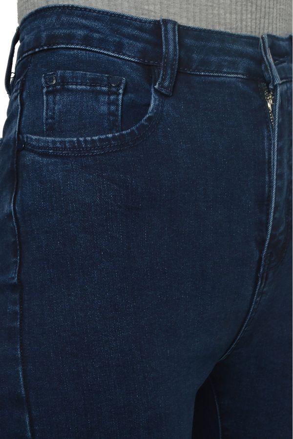 Джинсы женские HGKAL 6202 утепленные - фото 6