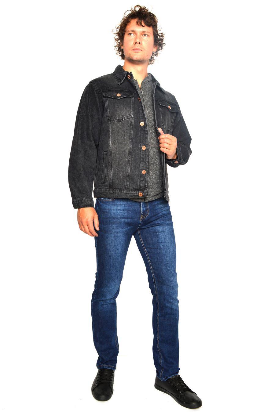 Пиджак мужской (джинсовка) Arnold 5709B - фото 1