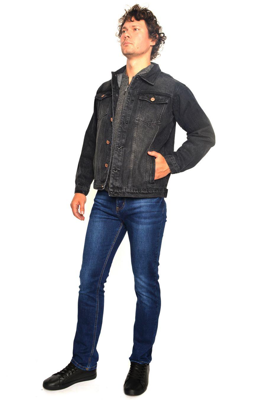 Пиджак мужской (джинсовка) Arnold 5709B - фото 2