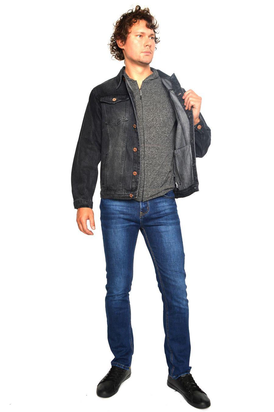 Пиджак мужской (джинсовка) Arnold 5709B - фото 3