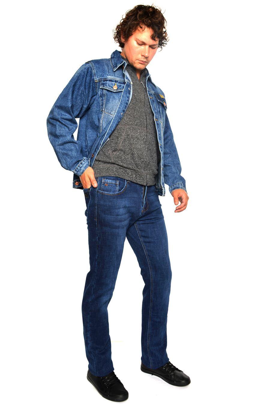 Пиджак мужской (джинсовка) Arnold 5702A - фото 2