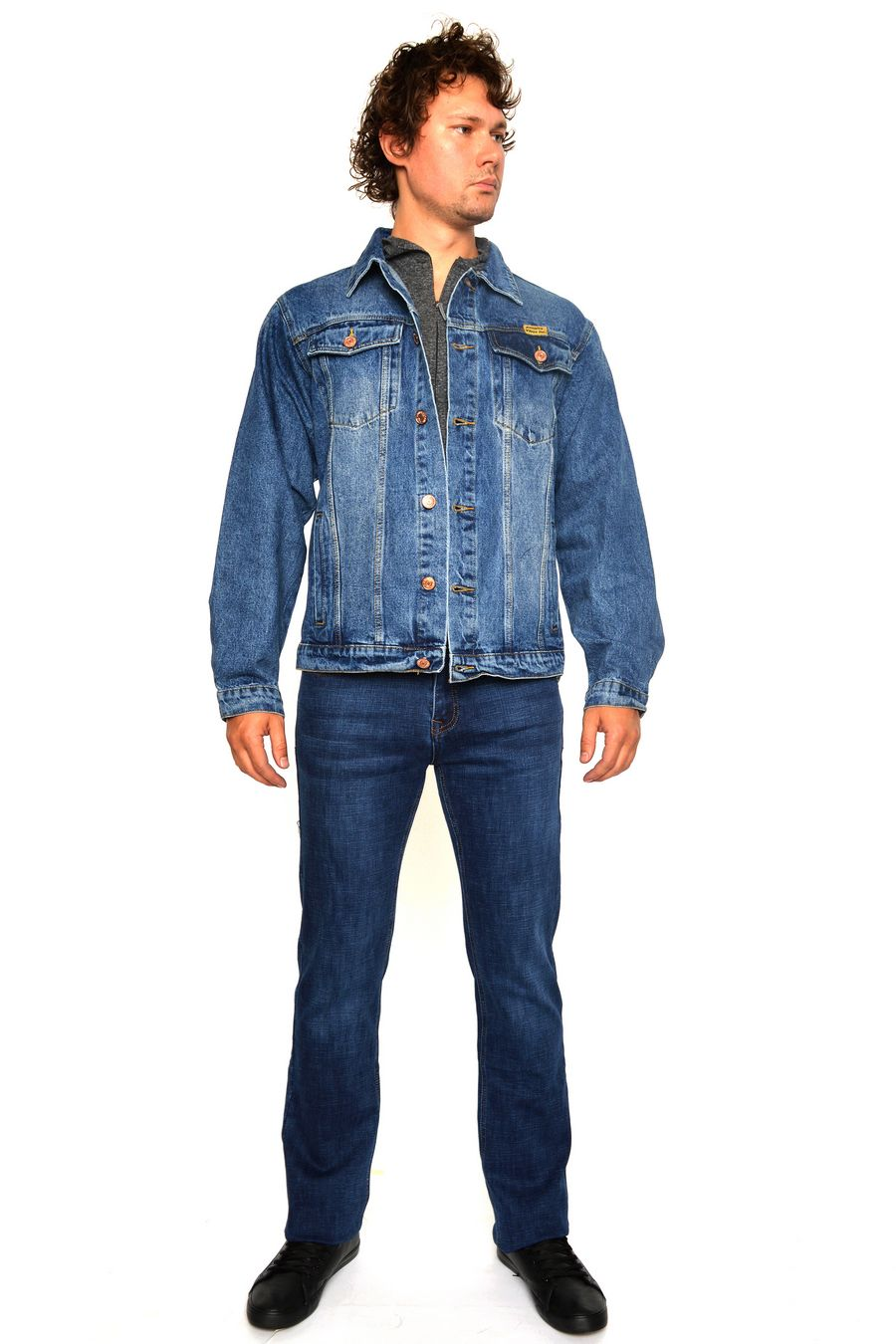 Пиджак мужской (джинсовка) Arnold 5702A - фото 1