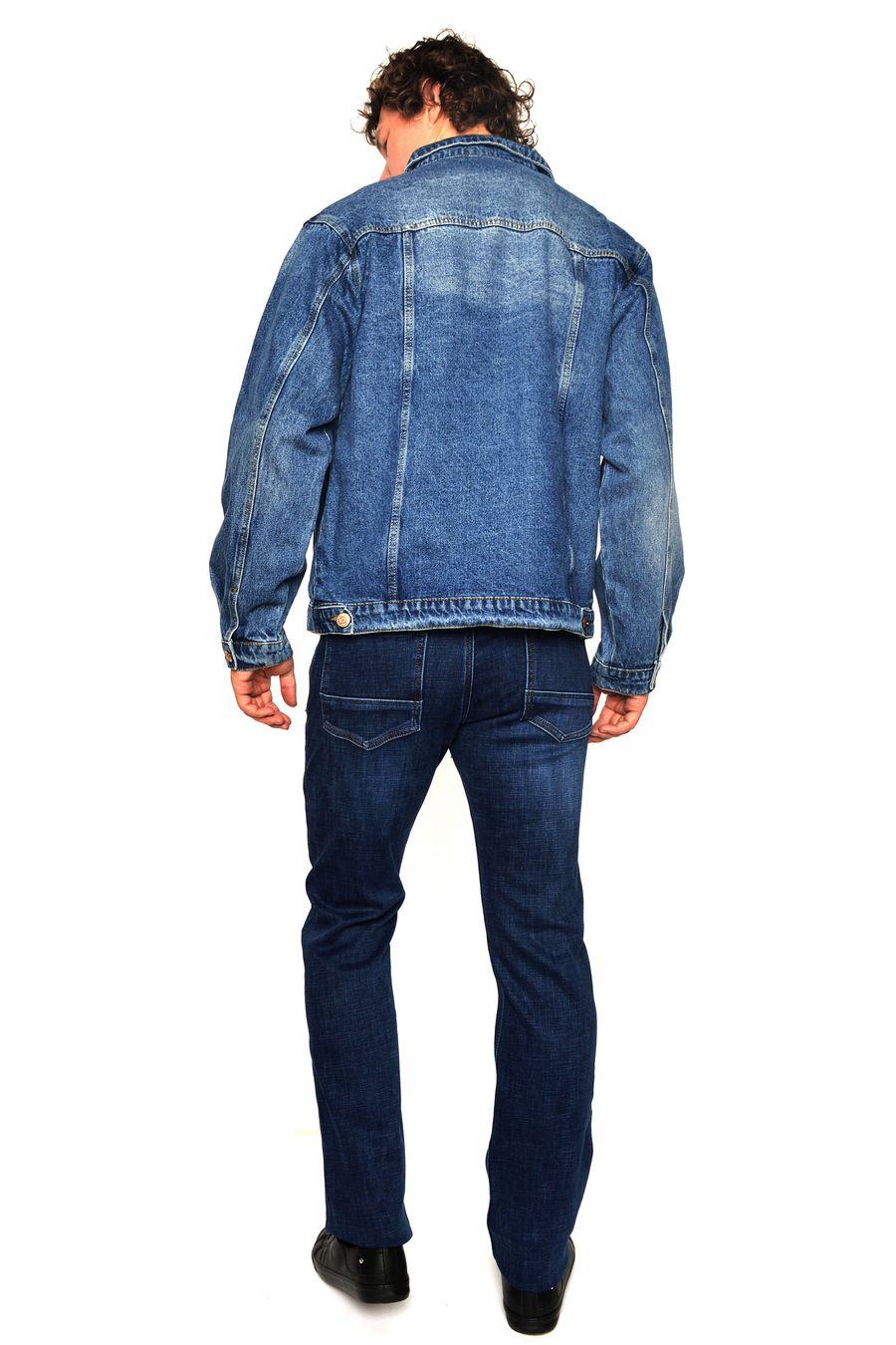 Пиджак мужской (джинсовка) Arnold 5702A - фото 3