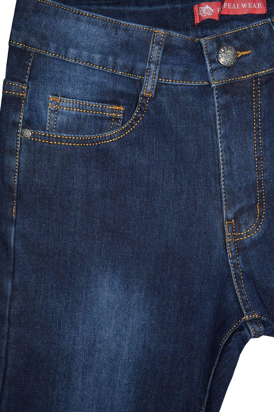 Джинсы мужские Hopeai 916 утепленные - фото 3
