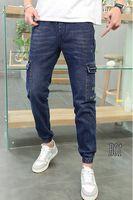 Утепленные мужские джинсы Roberto B01