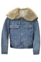 Утепленная женская джинсовая куртка LRZBS 2172