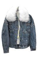 Утепленная женская джинсовая куртка LRZBS 2170